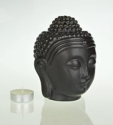 Large Buddha Head Oil Burner 14 cm