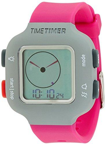 La hora del reloj temporizador para mujer y niños de colour gris...