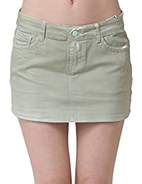 Miss Coquines - Mini jupe kaki - Femme - Jupes