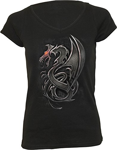 Spiral Dragon Slayer Maglia donna nero S