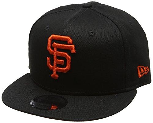 New Era Herren Baseball Cap League Essential 9fifty San Francisco Giants Schwarz (Schwarz)