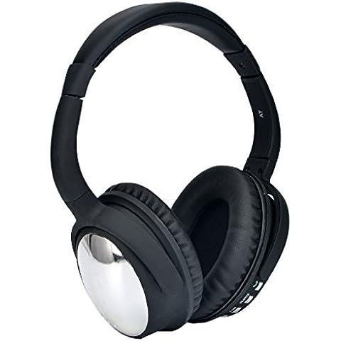 Aita BT805 Bluetooth Auriculares over ear Inalámbricos con Micrófono, Con el Mejor Ruido que Cancela para el iPhone, iPod, iPad, Android Smartphone, tablet, MP3 etc. Adultos Hombre Niñas Niños Regalo (Plata)