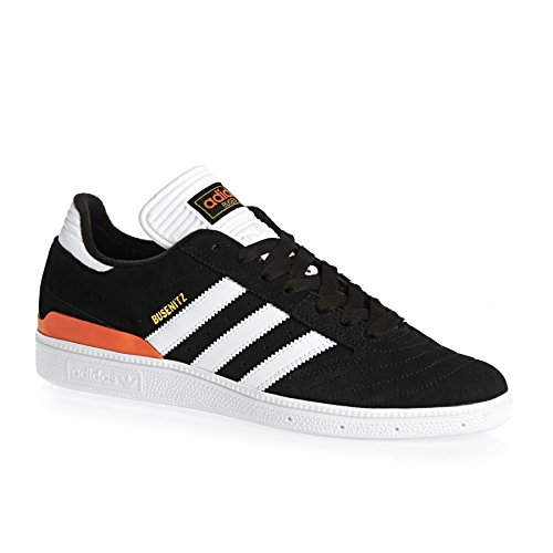 adidas Busenitz Black White Craft Orange Noir