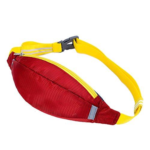 Multifunktionale Outdoor Fitness Sporttaschen Mehrfarbig Red2
