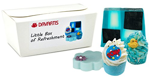 Davartis Little Box of Refreshment, Geschenkset Badepralinen