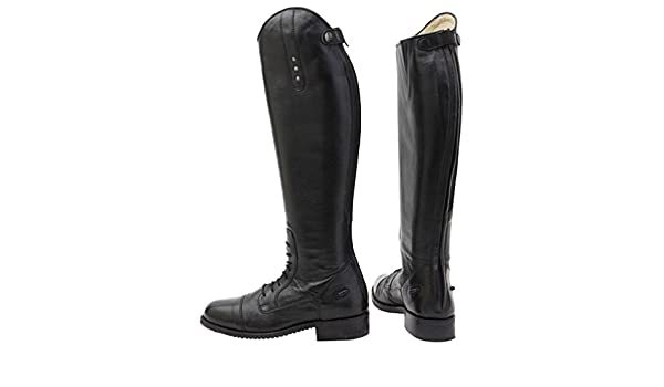 aff042a01e88a Horka Equestrian Ladies Mens Leather Freestyle Strap Closure Horse Riding  Boots  Amazon.co.uk  Sports   Outdoors