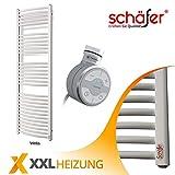 Elektrische Badheizkörper Schäfer ® TERMA Handtuchheizkörper (Oval, 400 x 1800 mm WON)