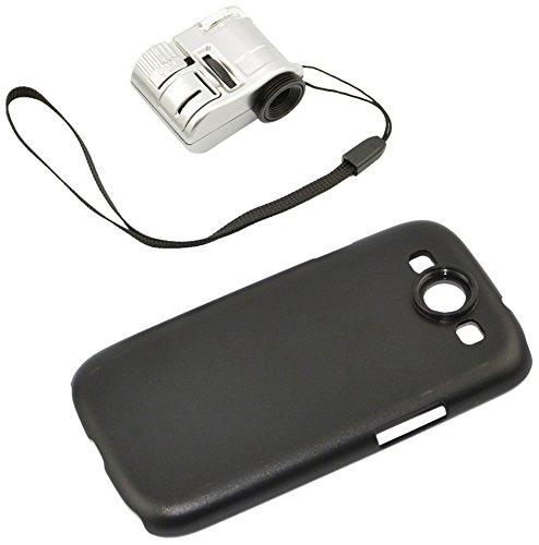 Apexel Mikroskop-Aufsatz für Handys, 50cm Brennweite, Aluminium Für Samsung Galaxy S3 I9300 63X -