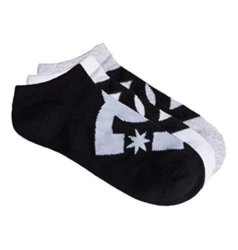 DC Shoes Herren SPP DC Ankle 3P Socks, Assorted, One Size (Dc-logo-socken)