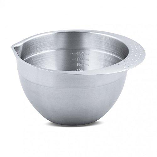 Staedter Bol à mélanger, Argent, Acier Inoxydable, Silver, 20 cm