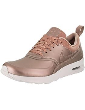 Nike Damen Air Max Thea Premium Bronze Textil/Leder/Synthetik Sneaker