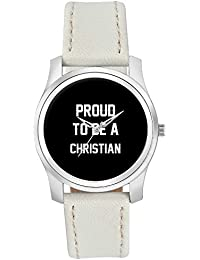 BigOwl Proud To Be A Christian Best Gift For CHRISTIAN Fashion Watches For Girls - Awesome Gift For Daughter/Sister...