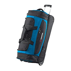Scarecrow Dx 85cm Rolling Luggage Wheeled Holdall Duffel Bag Atomic Blue