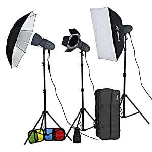 Visico 400 HHLR Novel Photoshoot Lights kit