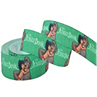 Pimp My Shoes 2m x 22mm DISNEY JUNGLE BOOK CHARACTERS GROSGRAIN RIBBON FOR CAKE