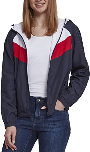 Urban Classic, Cappotto Donna Mehrfarbig (Navy/White/Fire Red 01243)