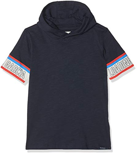 Garcia Kids Jungen A93408 T-Shirt, Blau (Dark Moon 292), 176 - Geschenke Kids Dark T-shirt