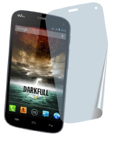 4ProTec 2X Wiko Darkfull Premium Bildschirmschutzfolie Displayschutzfolie Schutzhülle Bildschirmschutz Bildschirmfolie Folie kristallklar