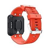 DyNamic KALOAD Silikon Smart Watch Ersatzband Sports Armband-Strap Belt für Garmin Forerunner 35...