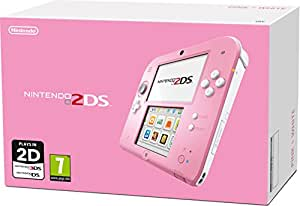 Nintendo Handheld Console 2DS - Pink/White (Nintendo 2DS)