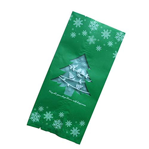 en Süßigkeiten Taschen Geschenk Behandeln Taschen Für Gefälligkeiten Und Dekorationen Super Nette Weihnachtsbaum Weihnachtsmann Deer Penguin Party Süßigkeiten Verpackung Taschen ()