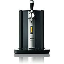 Philips Perfect Draft HD3620/25 Bierzapfanlage (70 W, Metallfässer 6 l) schwarz