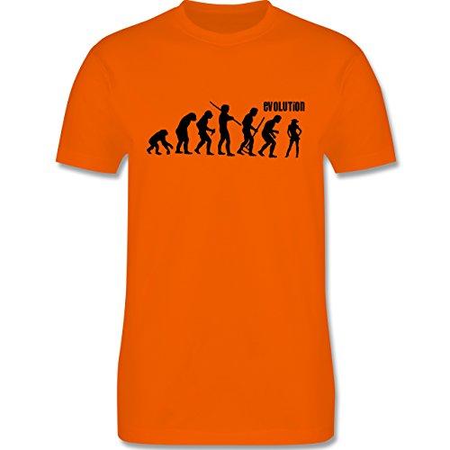 Evolution - Cowgirl Evolution - Herren Premium T-Shirt Orange