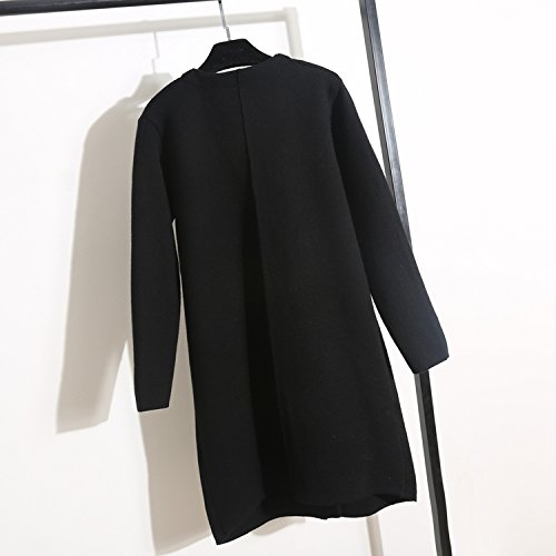MissWind - Gilet - Femme Taille Unique Noir