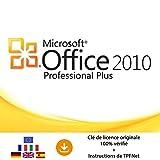 MS Office 2010 Professionnel 32 Bits & 64 Bits - Clé de Licence Originale par Postale et E-Mail + Instructions de TPFNet® - Livraison Maximum 60min
