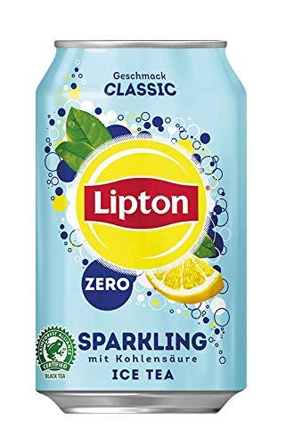 Lipton-Sparkling-Zero-Ice-Tea-Classic-Kohlensurehaltiger-Eistee-mit-Zitronen-Geschmack-ohne-Zucker-24-x-033l