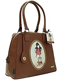 Gorjuss New Heights Large HandBag - Embossed Rococo