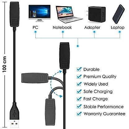 CAVN-2-Stck-Ladekabel-Kompatibel-mit-Garmin-Forerunner-235-35-230-630-645-Music-735XT-Garmin-Vvomove-hr-Approach-G10-S20-Ladegert-Daten-Sync-Daten-Zubehr-Ladestation-Dock-Stand