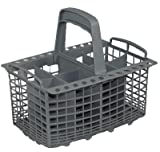 Universal Cutlery Basket Compatible With Many Dishwashers in Size 60 cm Width / Dimensions 240 x 170 mm