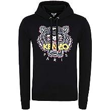 ca5390a9290 Kenzo Homme Noir Polaire avec Multicolore Tigre