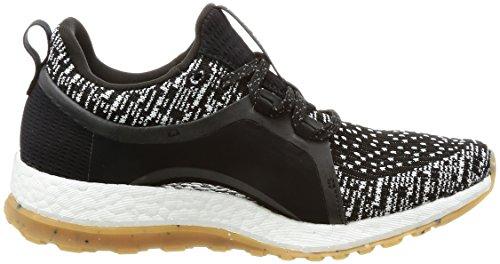 adidas Damen Pureboost X All Terrain Laufschuhe Verschiedene Farben (Negbas / Ftwbla / Negbas)