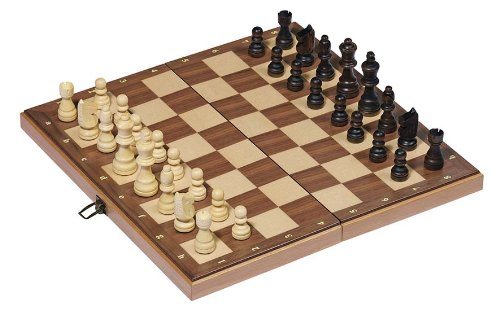 Goki 56922 - Schachspiel - Holzklappkassette