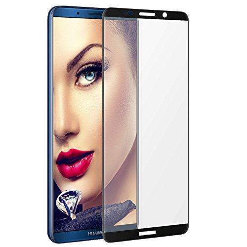 mtb more energy® Gewölbtes 3D Kombi-Schutzglas für Huawei Mate 10 Pro (BLA-L09, 6.0'') - schwarzer Softframe - 9H - 2.5D - Curved Full Bildschirm Glasfolie