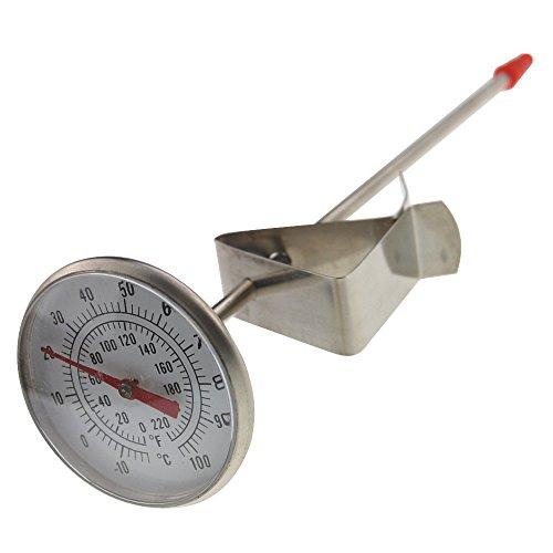 Dairy termometro–ideale per formaggio di latte yogurt caffè per una lunghezza 165mm sonda