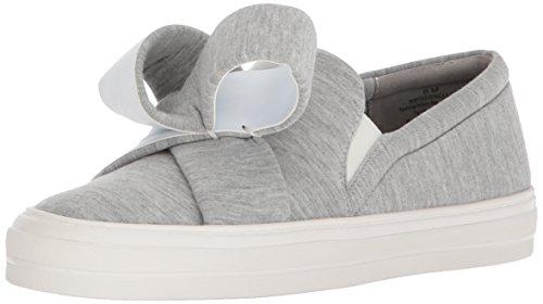 Nine West Damen, Slip On Sneaker ODINELLA, Grau (Heather Grey), 40 EU