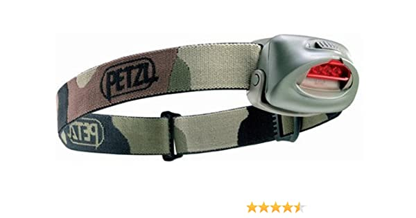 Frontale Lampe 3 Petzl Tacktikka Leds Camouflage ON80yvmwn