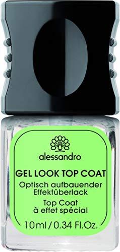 alessandro Professional Manikure Gel Look Top Coat, 1er Pack (1 x 10 ml)
