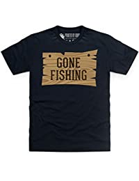 Gone Fishing T-shirt, Pour homme