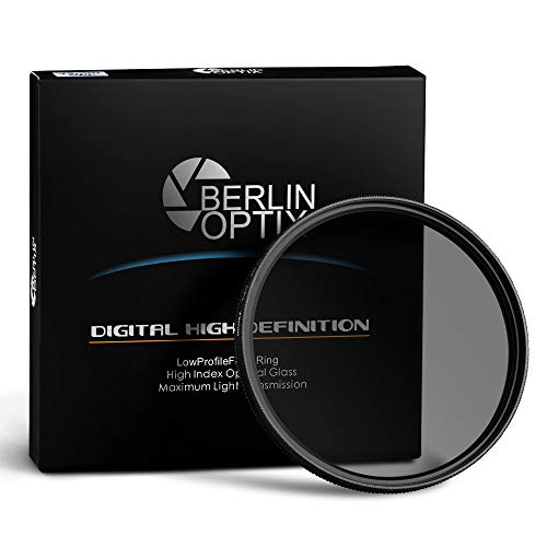 Berlin Optix Variabler Premium CPL Pol Filter 67mm ∙ Zirkularer Polarisationsfilter für hohe Bildqualität ∙ Klare Entspiegelung Ihrer Aufnahmen