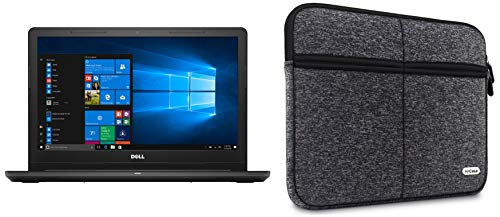 Dell Inspiron 3567 Intel Core i3 7th Gen 15.6-inch FHD Laptop (4GB/1TB HDD/Windows 10 Home/MS Office/Black/2.5kg) with Laptop Sleeve