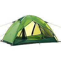 Moppi De NatureHike carpa doble capa tienda de campaña al aire libre que va de excursión impermeable doble prueba de viento contra los rayos UV 20d de silicona