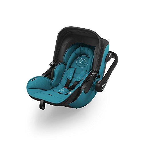 kiddy 41940EL034 Kindersitz I-Size inklusive Isofix Base 2 Ocean Petrol, blau