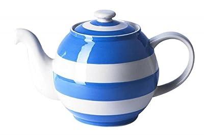 Cornishware Bleu et blanc à rayures Petite Betty Théière, 50cl, 2tasses