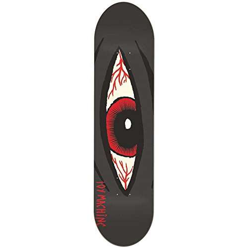 Toy Machine Skateboards Sect Eye Bloodshot Skateboard Deck 8.5
