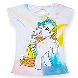 Le ragazze shimmer e lucentezza T-Shirt Bambini Manica Corta Cotone Top Età 2-6Y