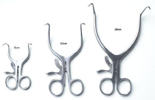 Chirurgisches Instrument Spezialisten Gelpi Retraktor Medizinische Chirurgisch Retraktor Operation Retraktor Verschiedene Größen - 9cm